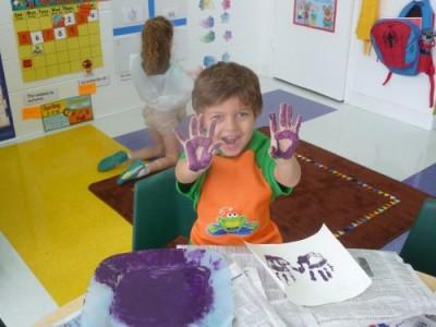 7. edmund with paint hands